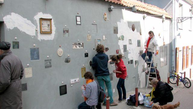 Literatų gatvės projekto pristatymas